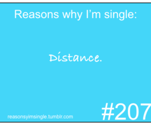 distance, reasons, and single image