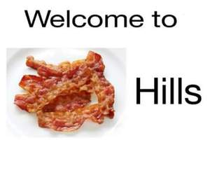 teen wolf and bacon image