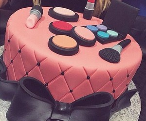 cake and makeup image