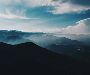 blue, freedom, and mountains image