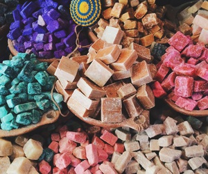 colourful, colours, and cubes image