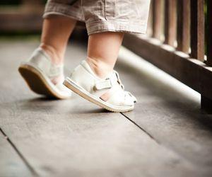 feet, kids, and cute image