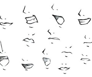 drawing tips and drawing mouth expressions image
