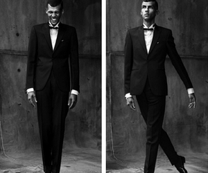 black and white, classic, and stromae image