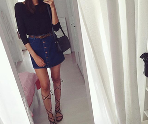 Couture, long legs, and mode image