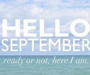 hello, September, and tumblr image