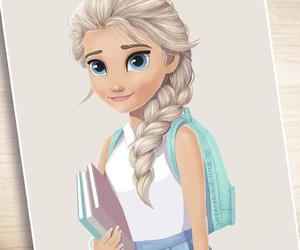 book, disney, and frozen image