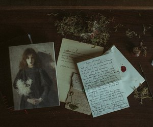 autumn, letters, and laura makabresku image