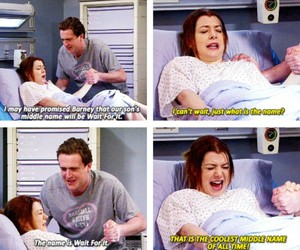 himym, funny, and howimetyourmother image
