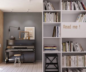 books, piano, and read me image
