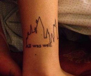 ankle, harry potter, and castle image