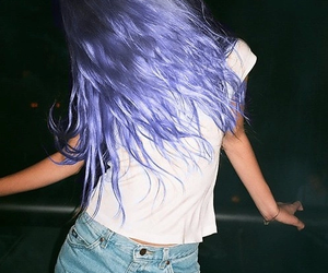 blue, gorgeous, and hair image