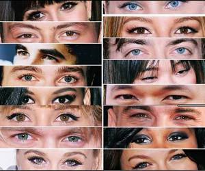 beautiful eyes and glee image