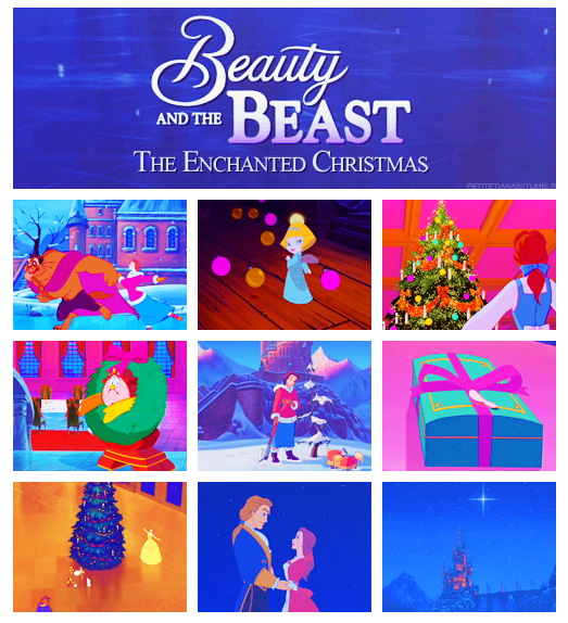 Beauty And The Beast Christmas.Beauty And The Beast The Enchanted Christmas Beauty And