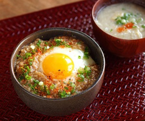 asian, egg, and food image