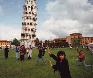 funny, italy, and Pisa image