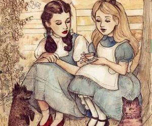 alice, alice in wonderland, and dorothy image