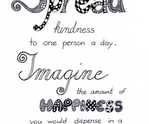 happiness, imagine, and quote image