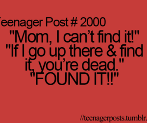 funny, true, and teenager post image