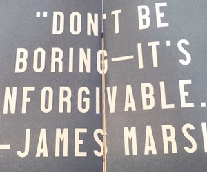 quote and james marsh image