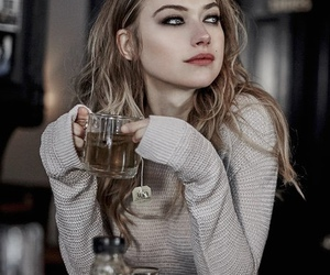 girl, imogen poots, and beauty image