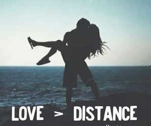 couple, distance, and quotes image