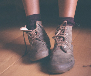 shoes, boots, and vintage image