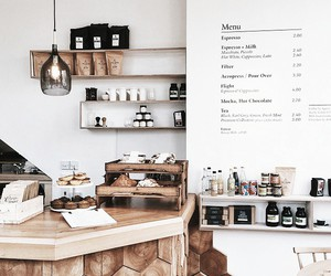 cafe, coffee, and white image