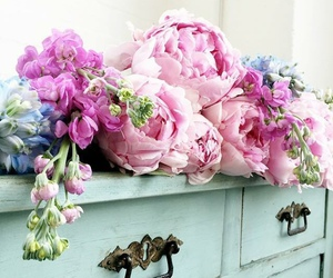flowers, pretty, and shabby chic image