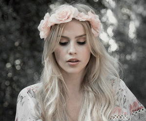 claire holt, The Originals, and flowers image