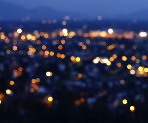 light, love, and city image