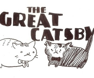 cat and the great gatsby image