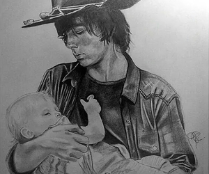 fanart, the walking dead, and judith grimes image