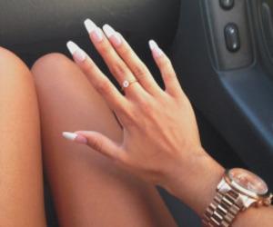 fashion, stylish, and nails image