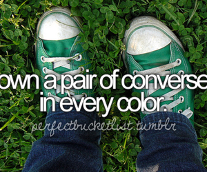 converse, before i die, and color image
