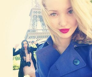 dove cameron, paris, and friends image