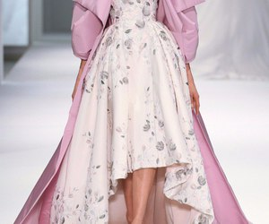 dress, pink, and ralph & russo image