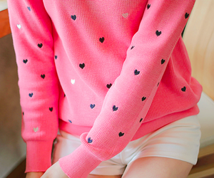 pink, hearts, and clothes image