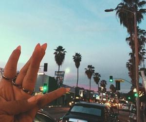 nails, california, and summer image