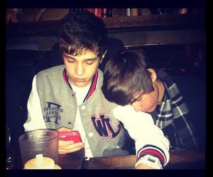 boys, sleeping, and austin mahone image