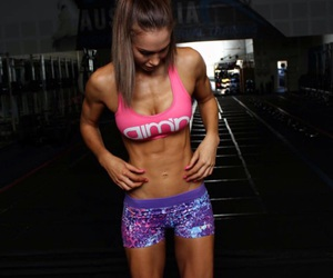 abs, fitness, and body goals image