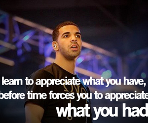 Drake, quotes, and true image