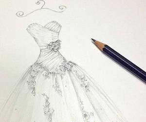 dress, draw, and art image