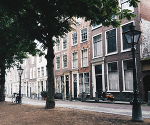 city, holland, and Houses image