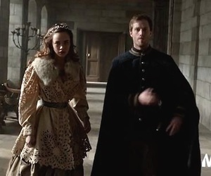 reign, mary and francis, and reign cast image