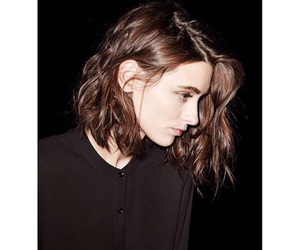 bob, brown hair, and brunette image