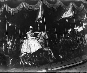 carousel, vintage, and dress image