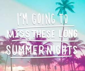 summer, night, and miss image