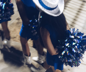 blue, boots, and hat image
