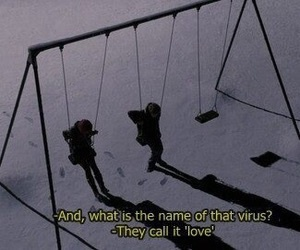 love, virus, and grunge image